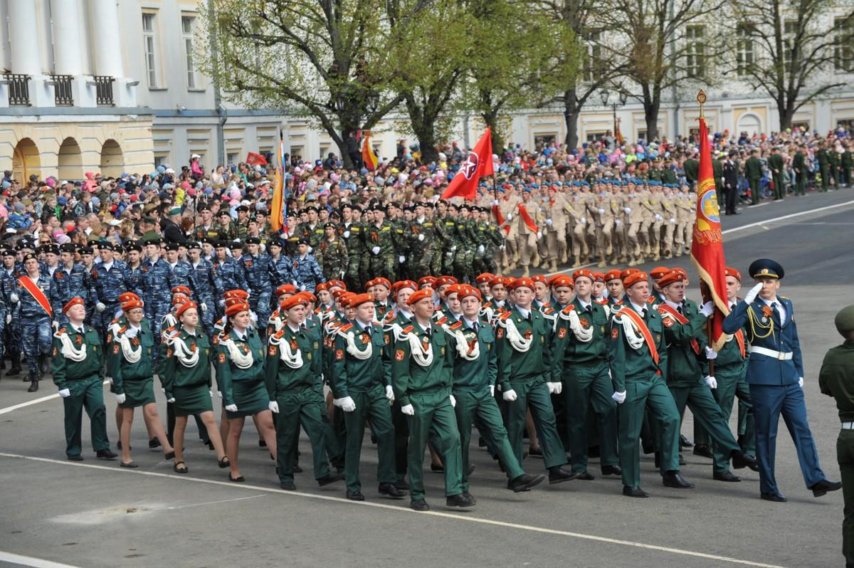 Основные праздничные мероприятия 9 Мая в регионе традиционно пройдут на Советской площади Ярославля