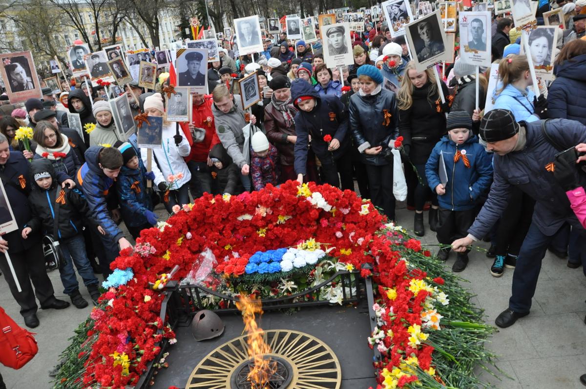 «Бессмертный полк» пройдет по улицам Ярославля по новому маршруту