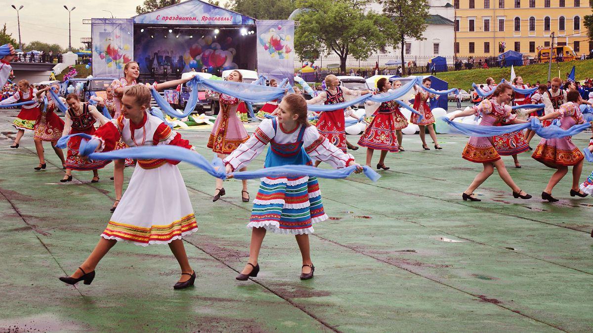 Опубликована полная программа празднования Дня города Ярославля