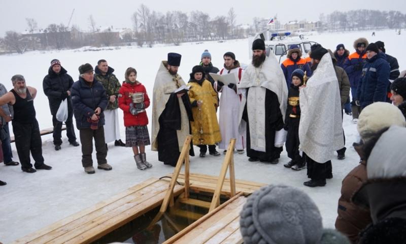 В Ярославской области назвали список мест, где православные могут окунуться в Крещение