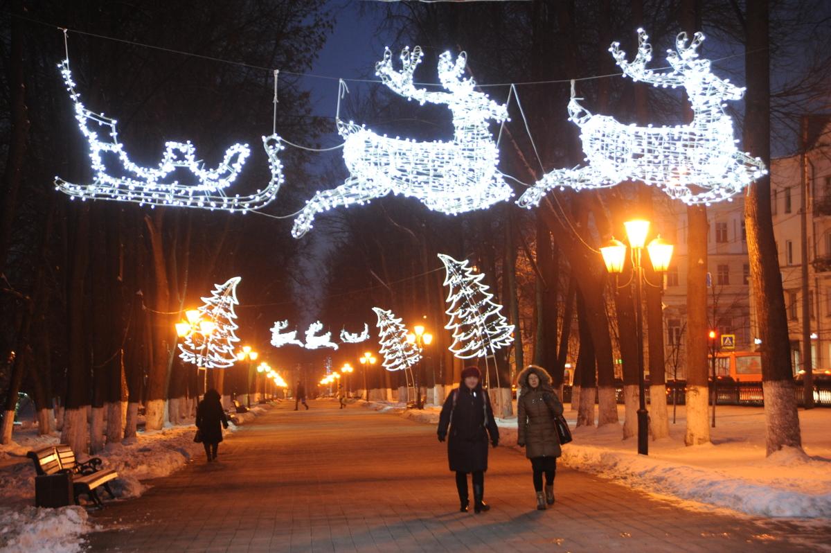 Для гостей Ярославской области подготовили необычные зимние проекты