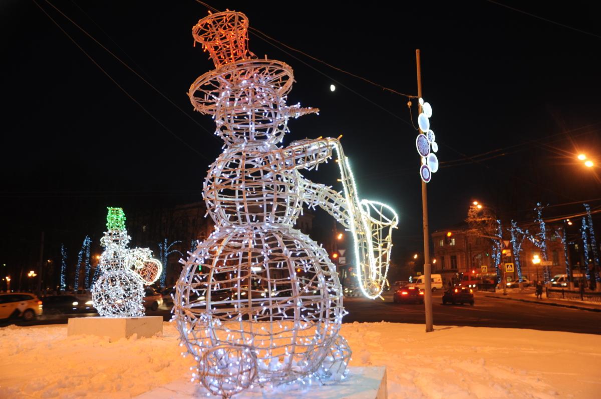 В мэрии Ярославля рассказали, как преобразится город к Новому году
