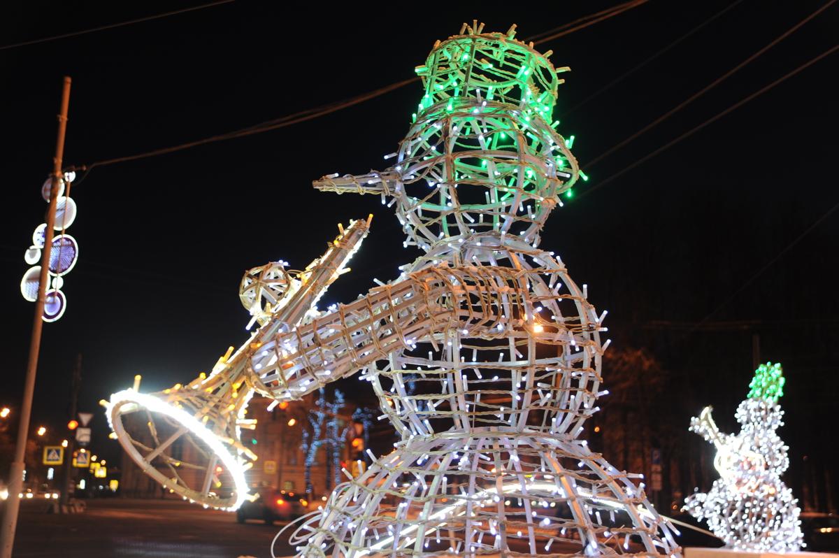 В Ярославской области в субботу пройдет шествие снеговиков