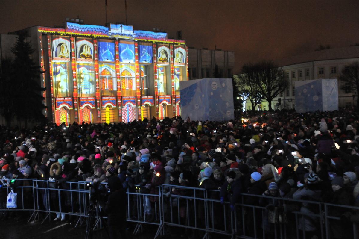Cтала известна полная программа празднования Нового года на Советской площади в Ярославле