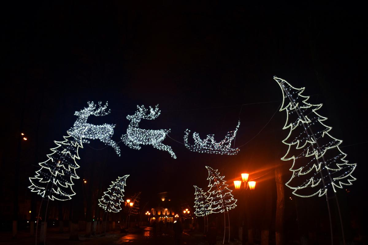 В сети появилось видео, посвященное новогоднему Ярославлю