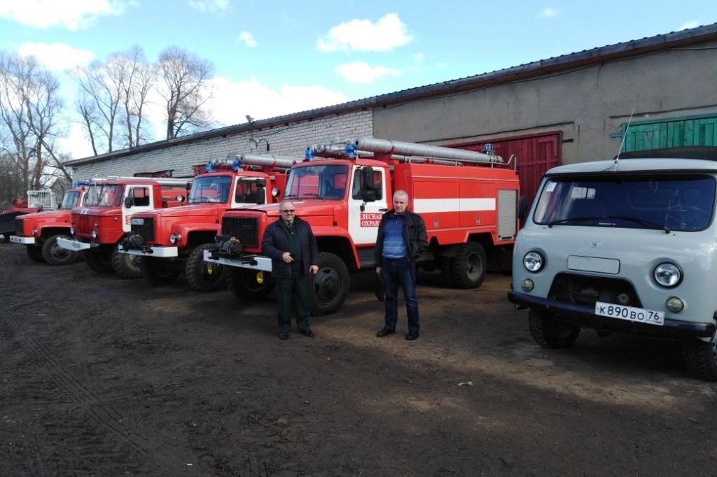 Ярославскую область признали готовой к пожароопасному сезону