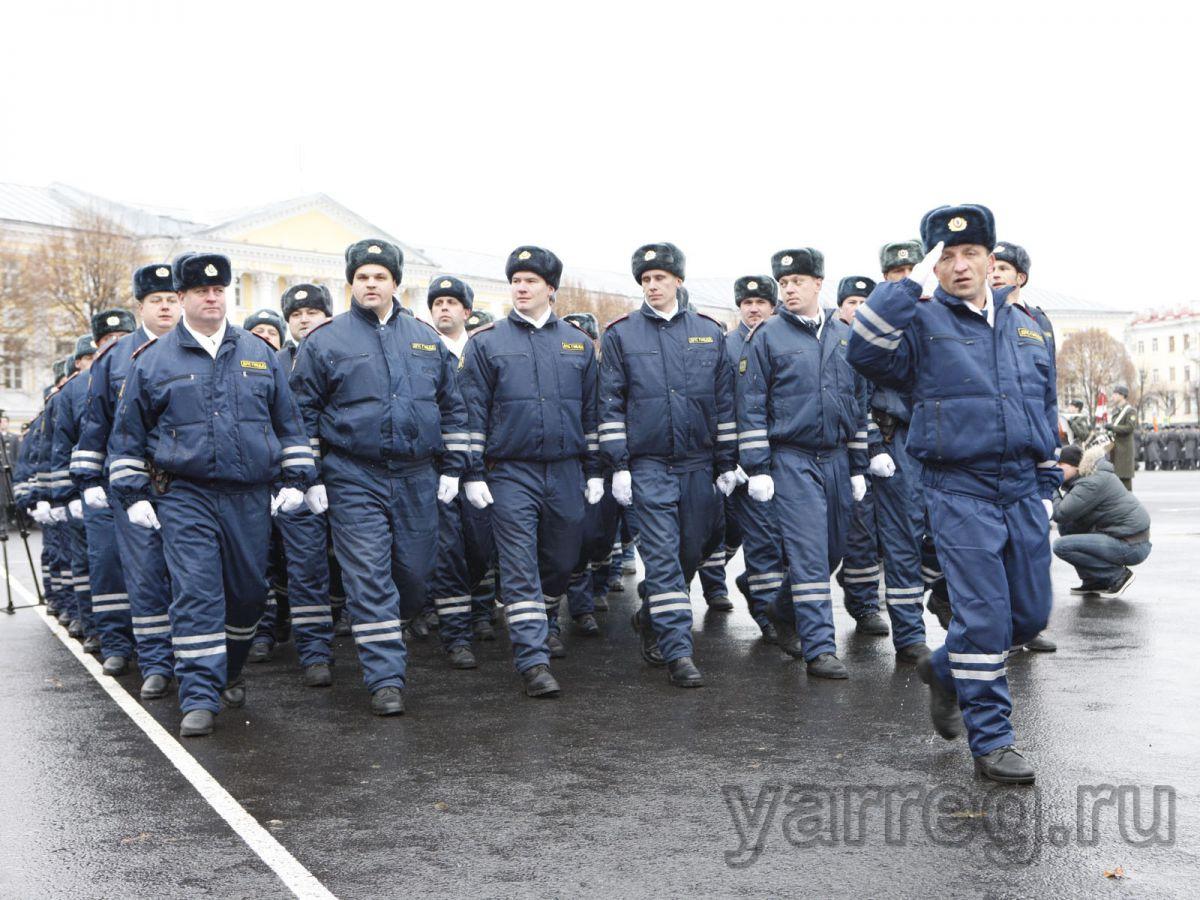 В День Победы охранять порядок в Ярославской области будут около 2000 полицейских