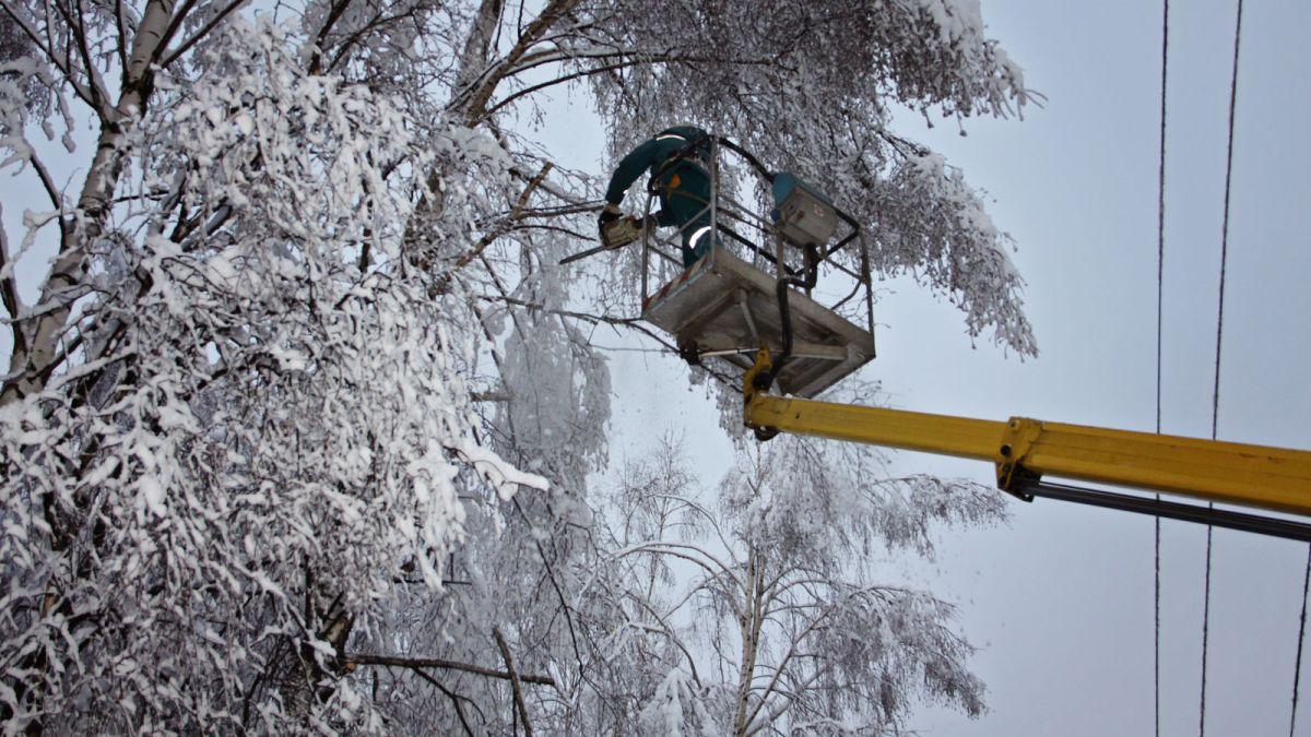 В регионе из-за сложных погодных условий введен режим повышенной готовности