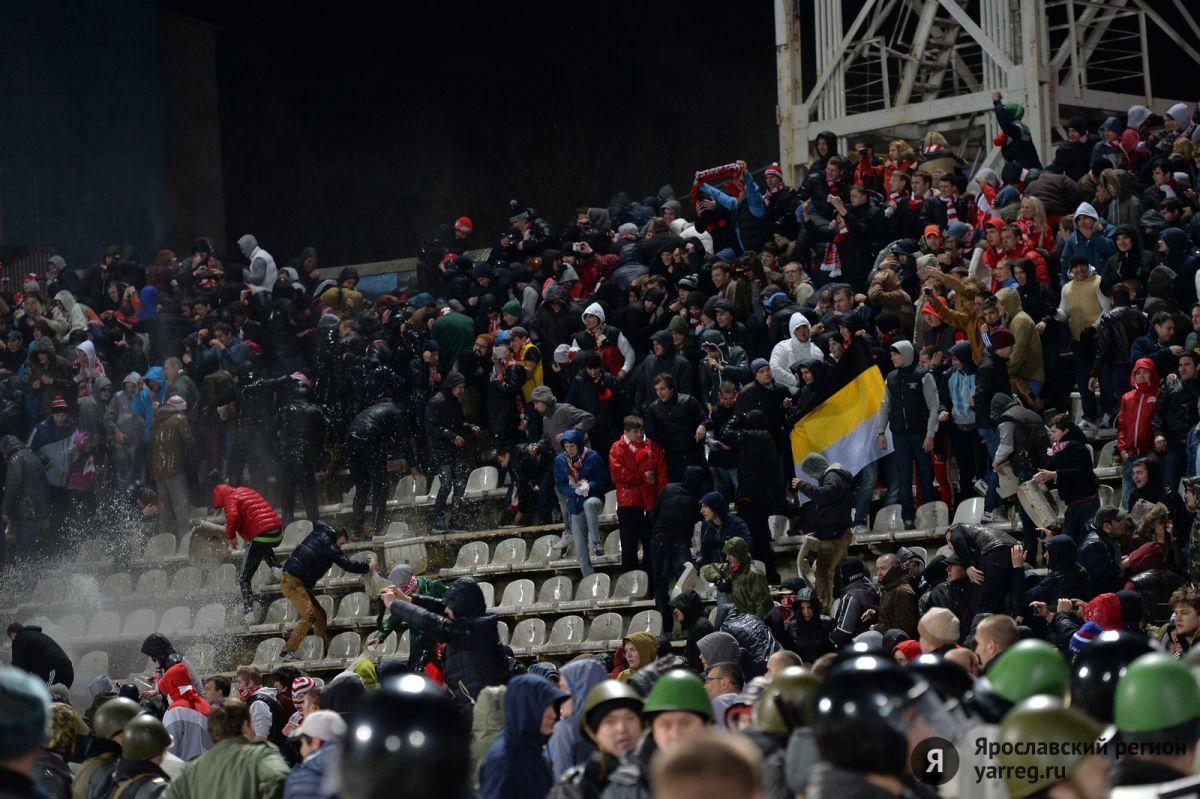 «Спартак» решил взыскать убытки с провокаторов на матче с «Шинником»