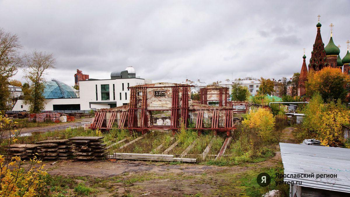 Строительства жилого дома у храма Николы Мокрого в Ярославле пока не будет