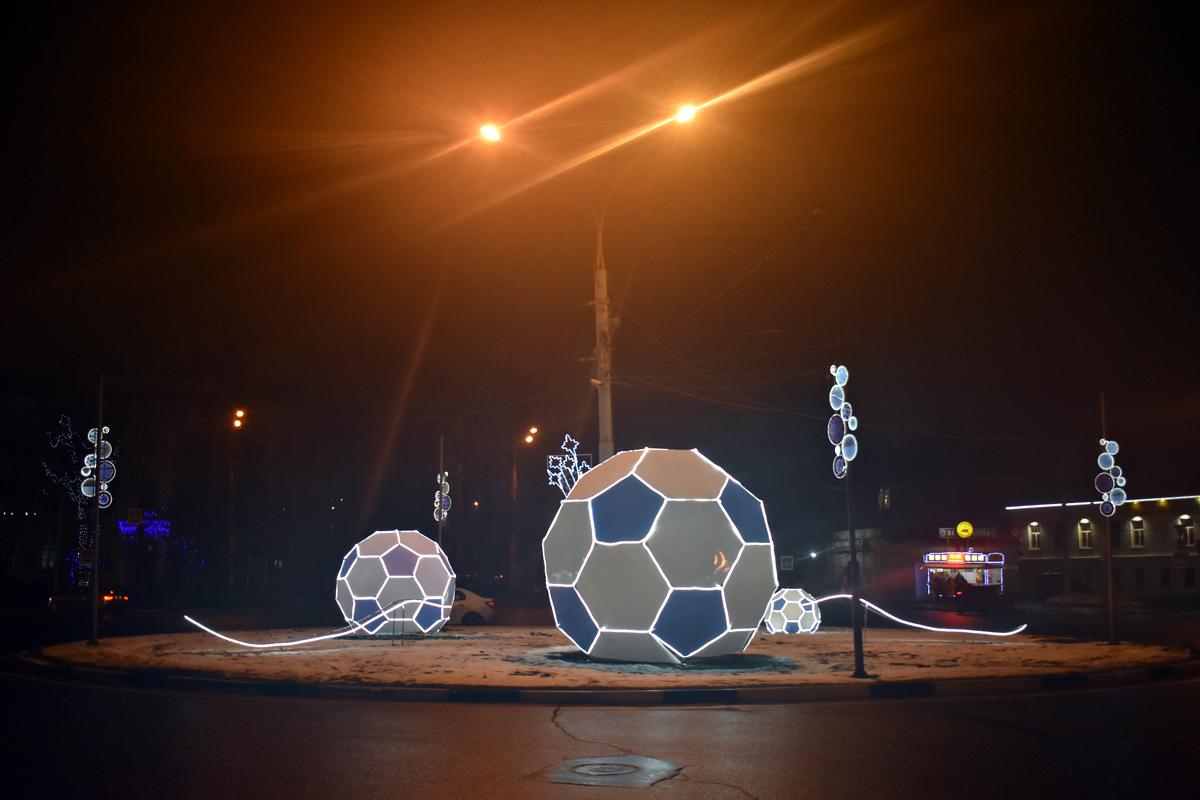 В Ярославле демонтируют праздничную иллюминацию