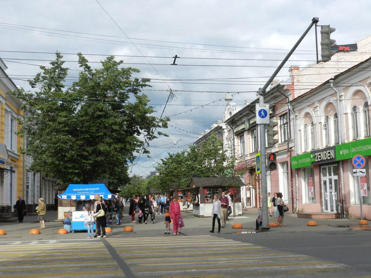 Ярославский «Арбат» признали лучшей торговой улицей России