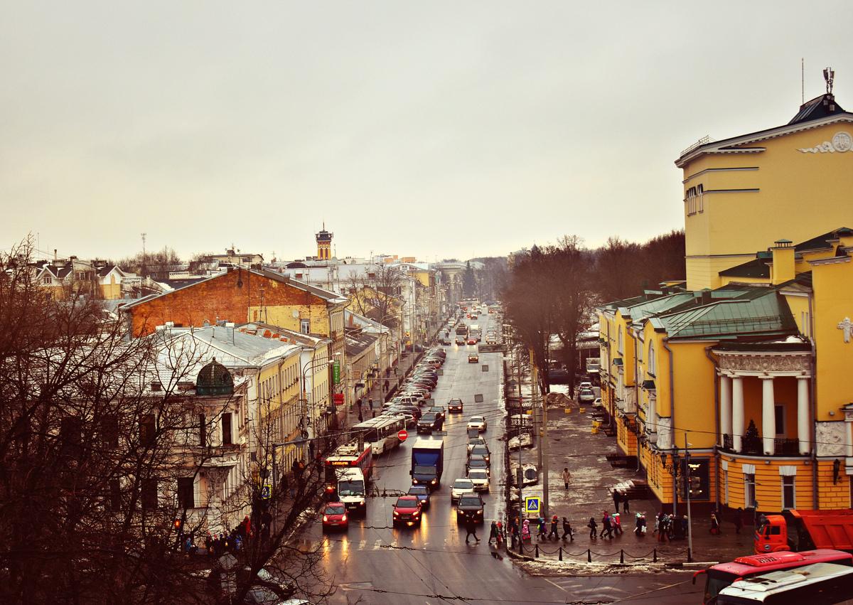 Ярославль возглавил топ-5 городов для путешествий по Золотому кольцу