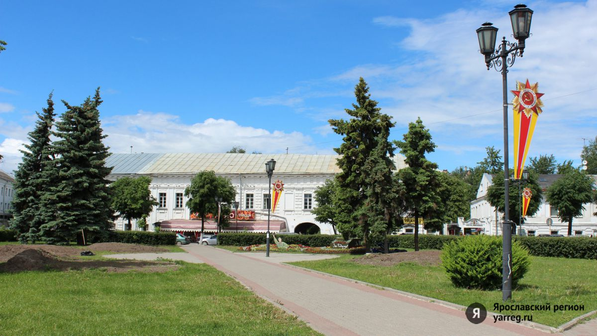 В сквере у часовни Александра Невского высадят более 100 тысяч цветов