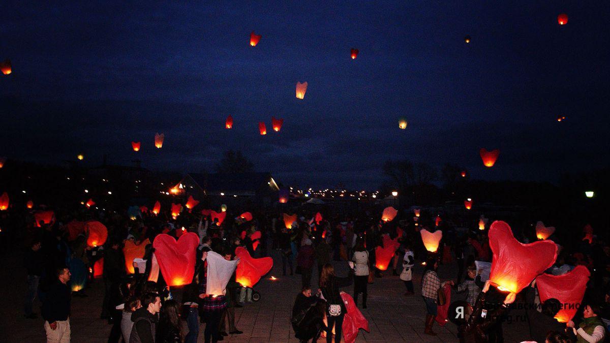 В честь 210-летия ЯрГУ пройдет массовый запуск небесных фонариков