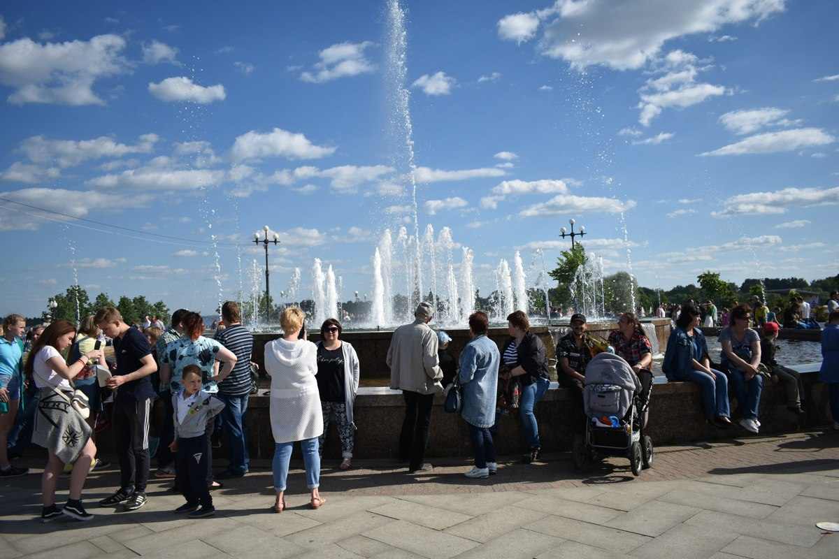 Ярославль вошел в десятку городов с самыми красивыми музыкальными фонтанами