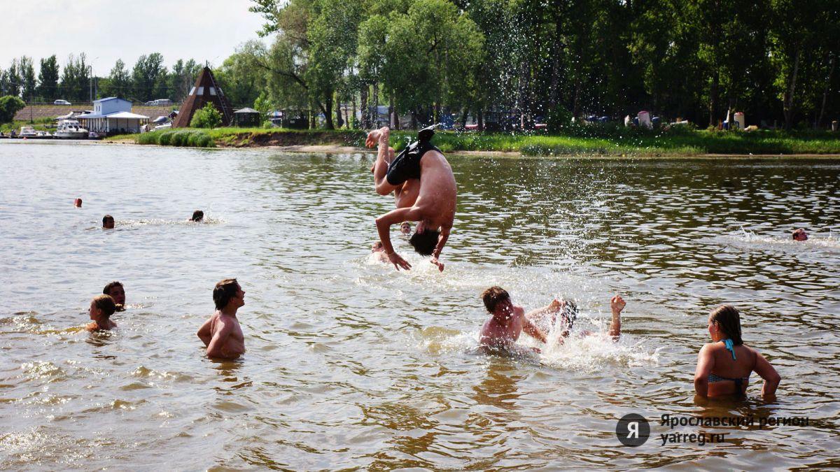 На всех ярославских пляжах запрещено купание