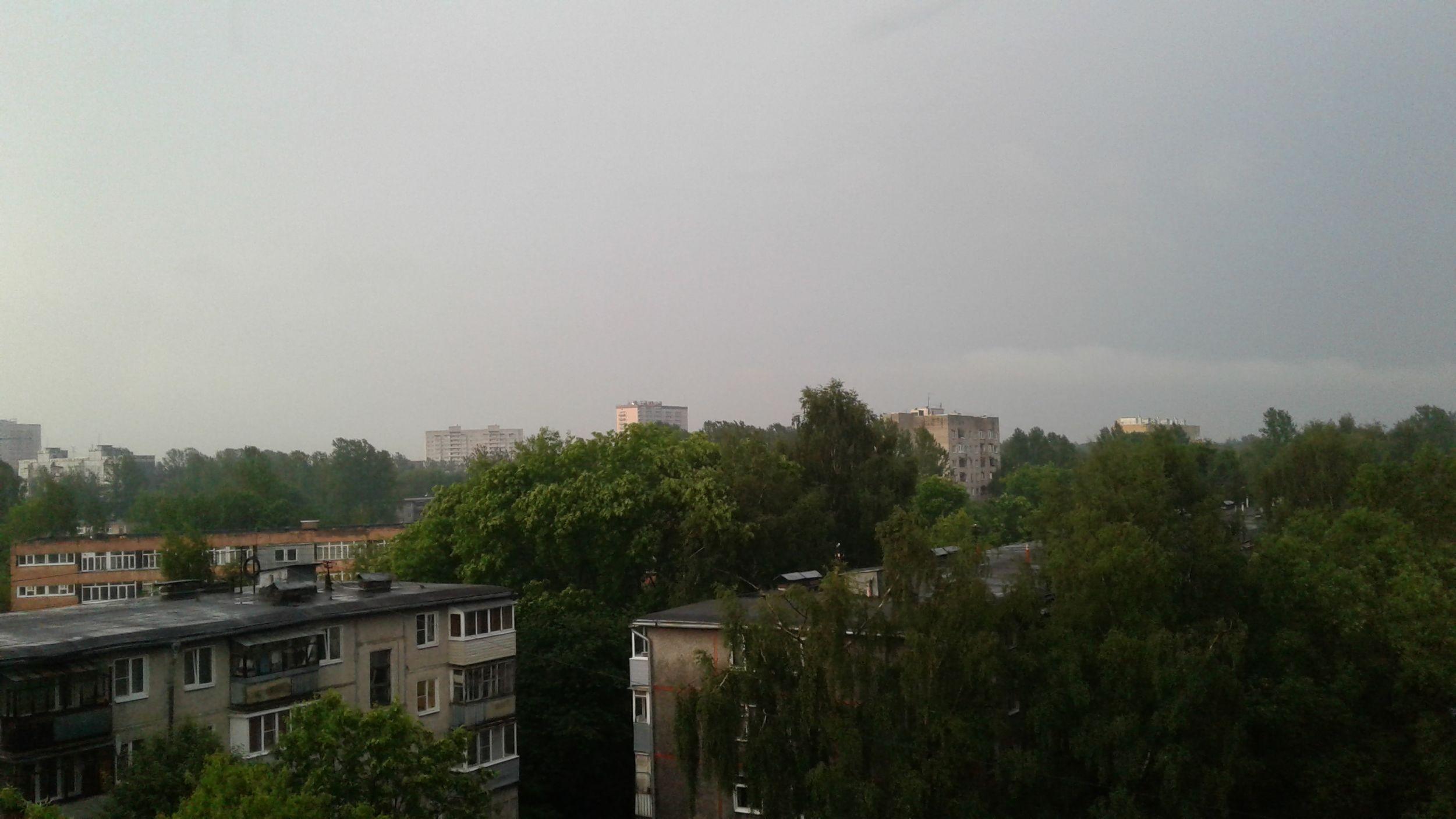 МЧС предупредило ярославцев о грозе и сильном ветре