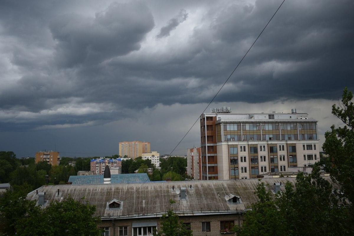 В Ярославской области ждут грозу и сильный ветер – МЧС