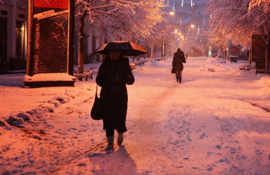 В ближайшие дни Ярославль дважды накроет снегопад - Гидрометцентр