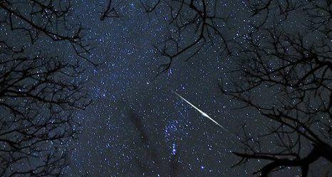 В ночь с 4 на 5 января ярославцы смогут полюбоваться метеоритным дождем