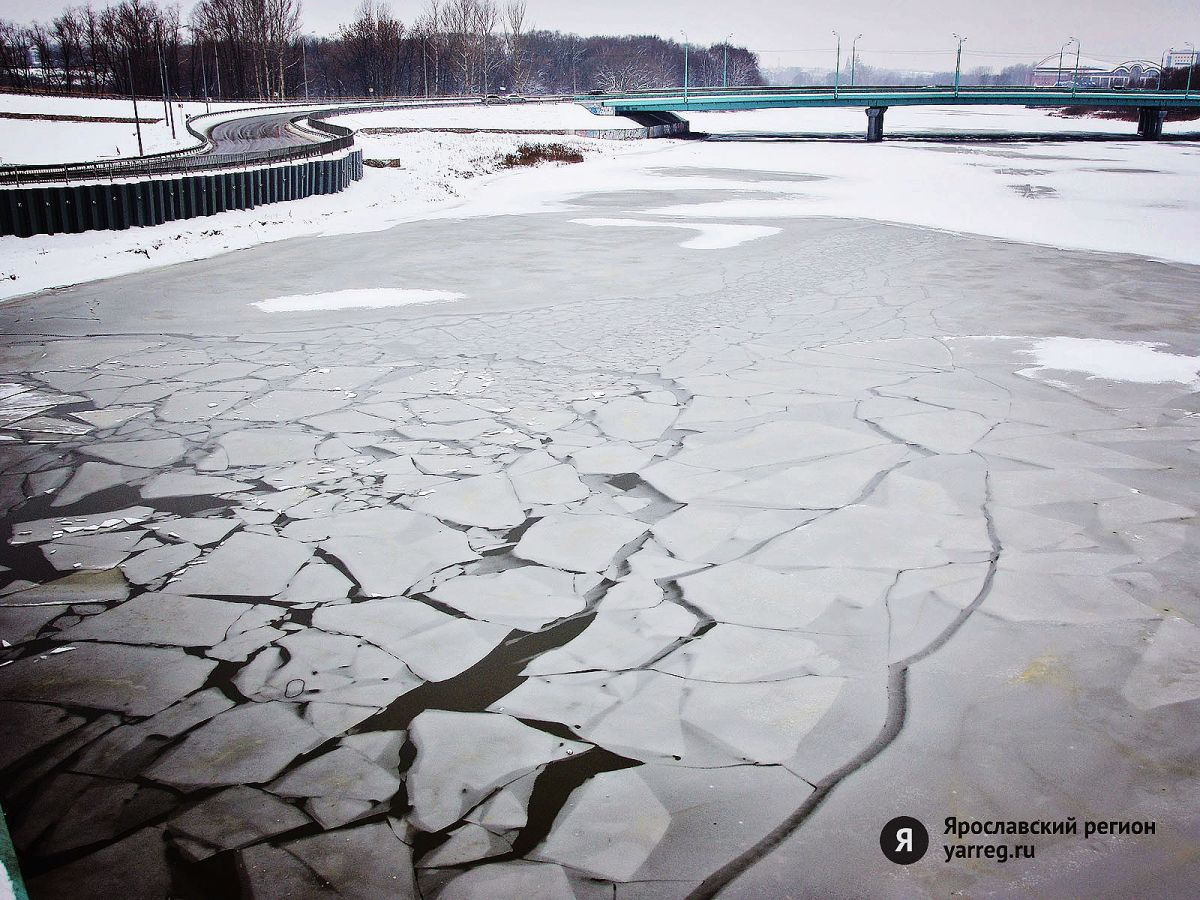 В Ярославле запрещен выход на лед