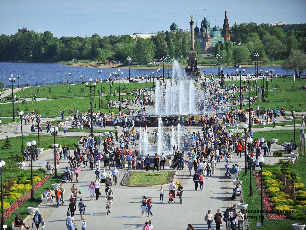 В День города Ярославль будут убирать три смены