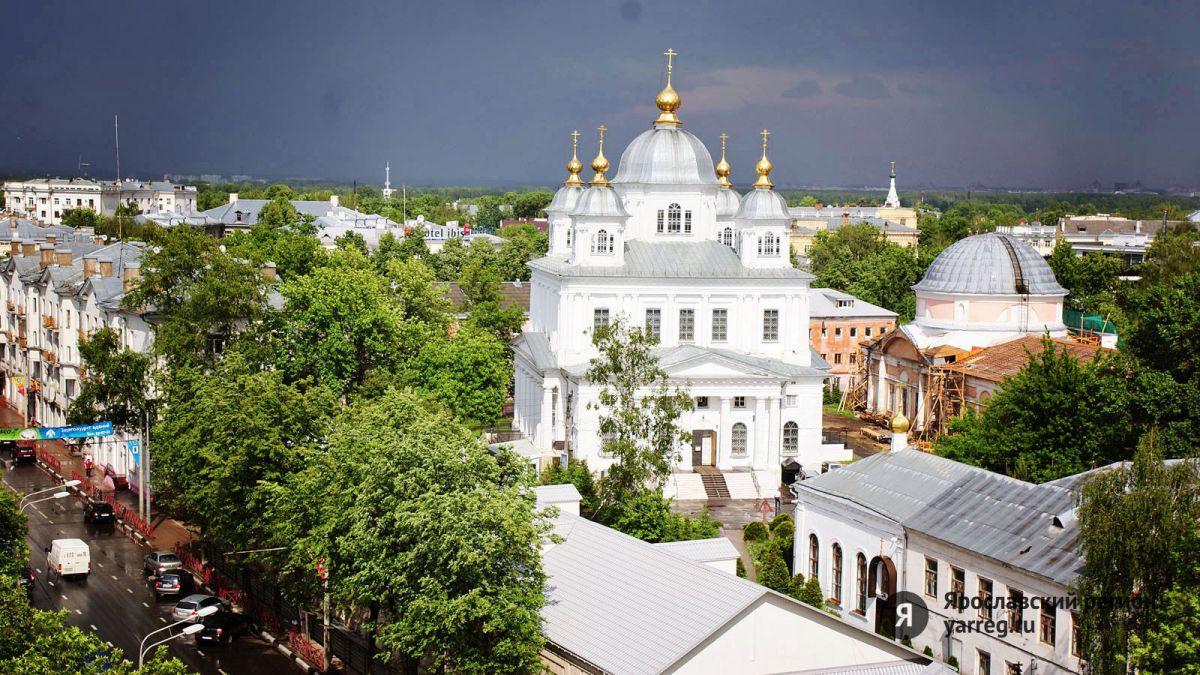 Из-за крестного хода на несколько часов перекроют часть улиц в центре Ярославля