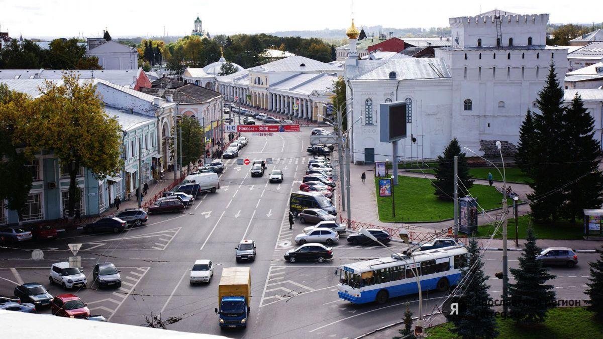 В центре Ярославля на два дня ограничат движение транспорта