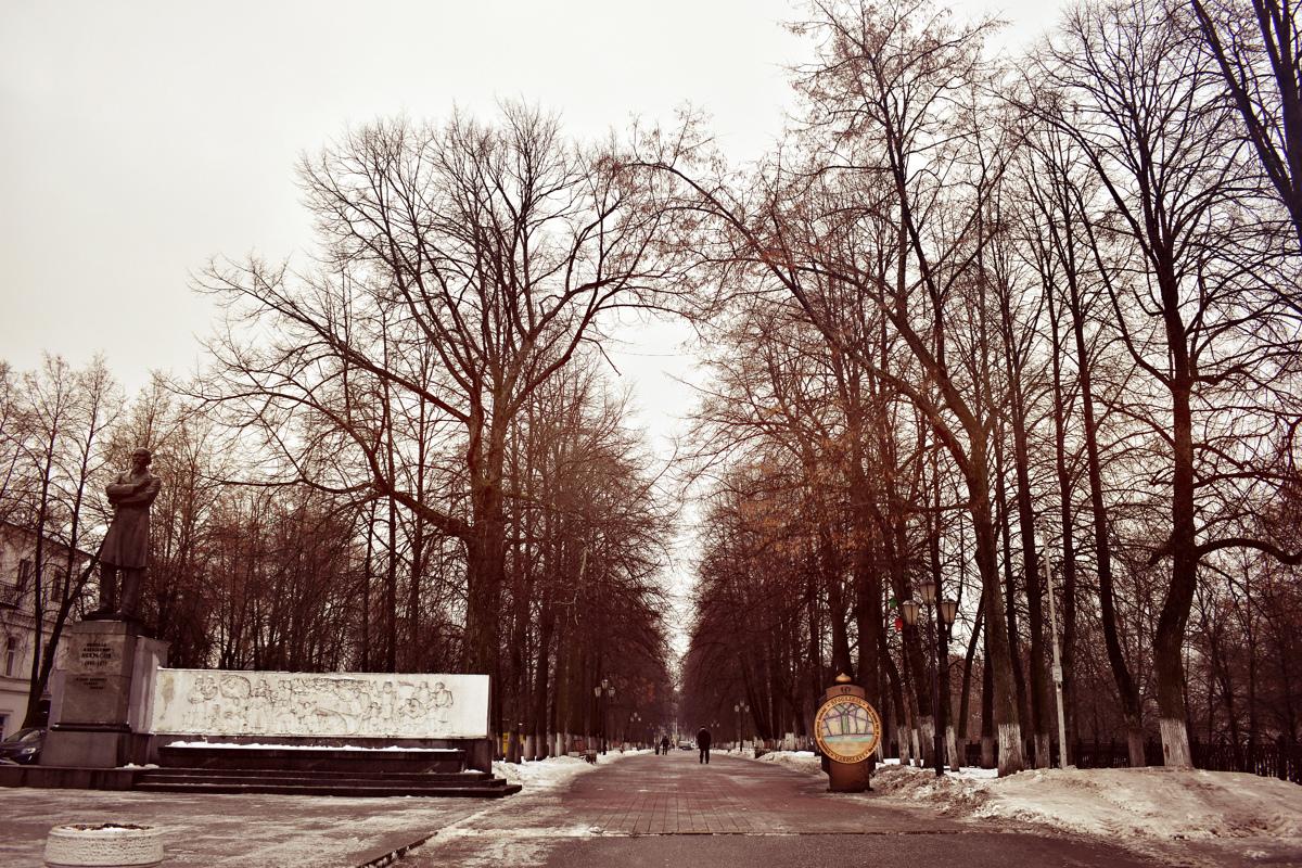 Первомайский бульвар в Ярославле переименуют в Театральный и Некрасовский