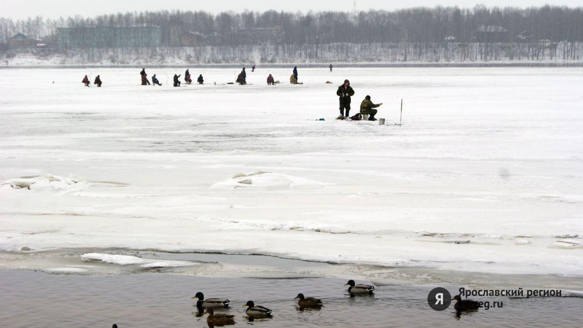 Под Рыбинском с льдины сняли 16-летнего подростка