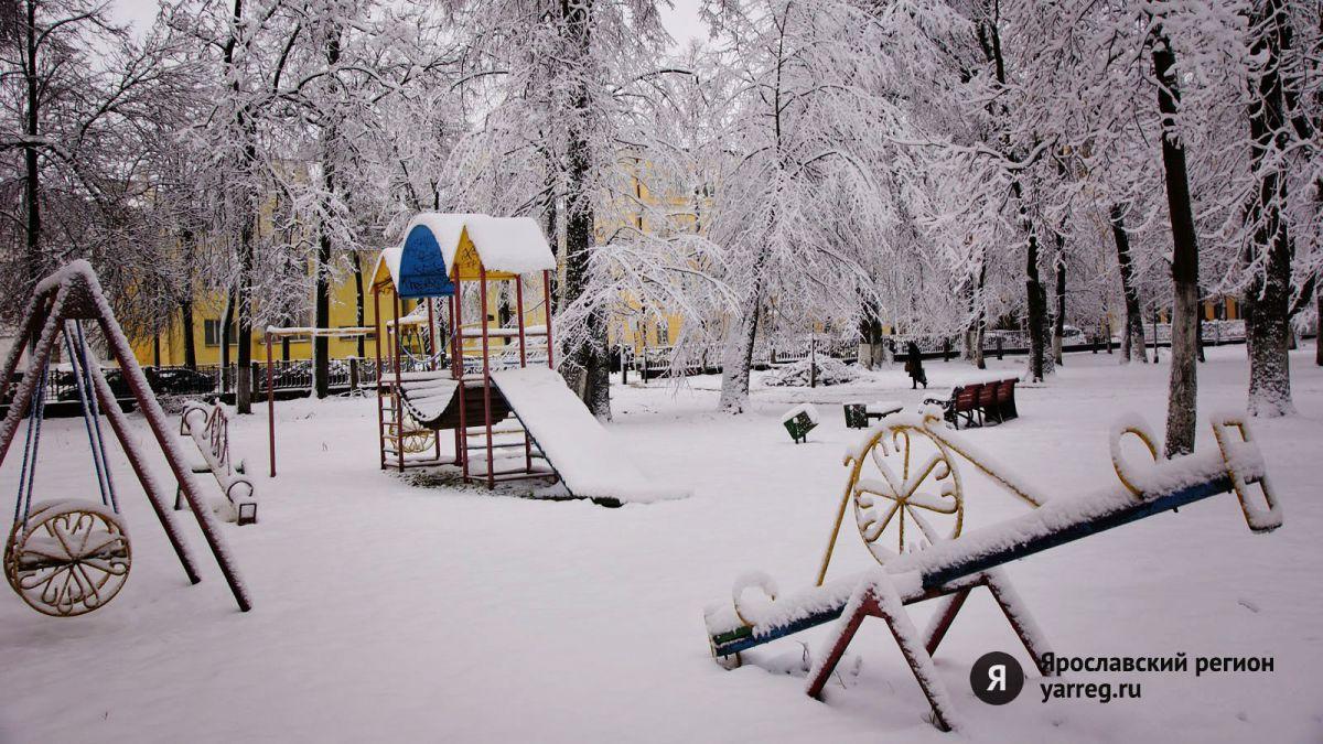 В Ярославле детская площадка располагалась рядом с газопроводом