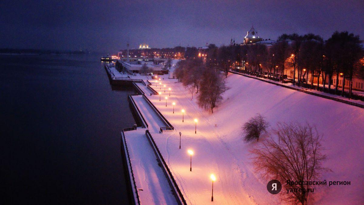 В новогоднюю ночь в Ярославле будет морозно