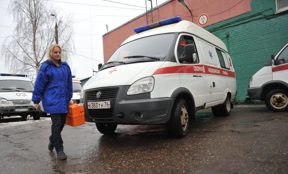 В центре Ярославля иномарка сбила женщину