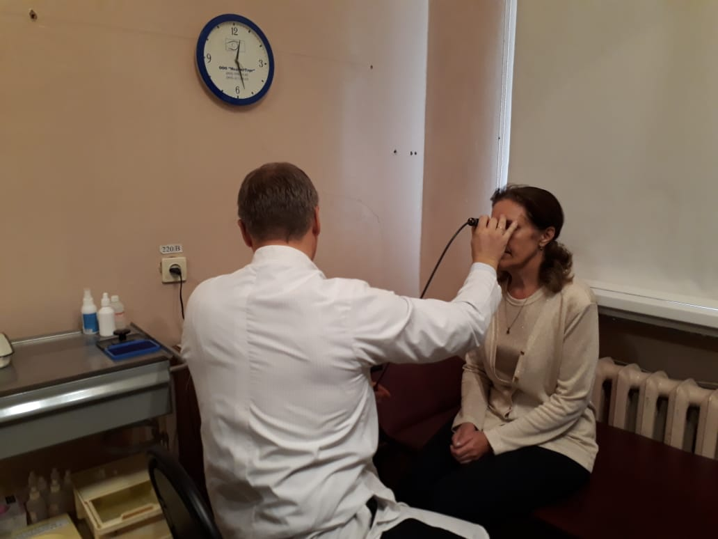 Французский УЗИ-аппарат позволит офтальмологам больницы №1 более эффективно лечить заболевания глаз