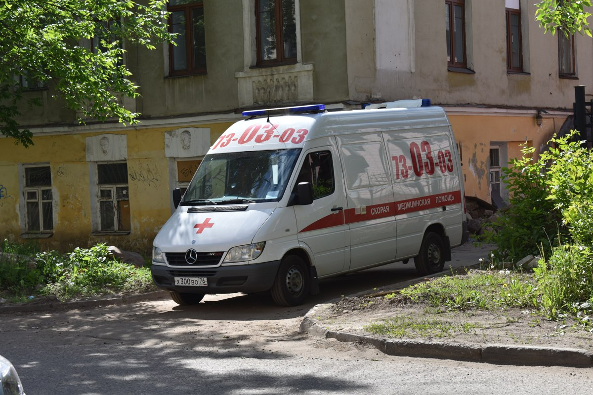 В Ярославской области упавшая мемориальная плита пробила ребенку череп