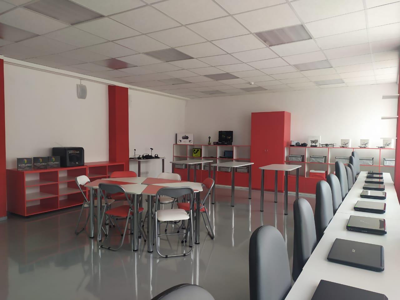 Завершены ремонты в 16 центрах образования «Точка роста»