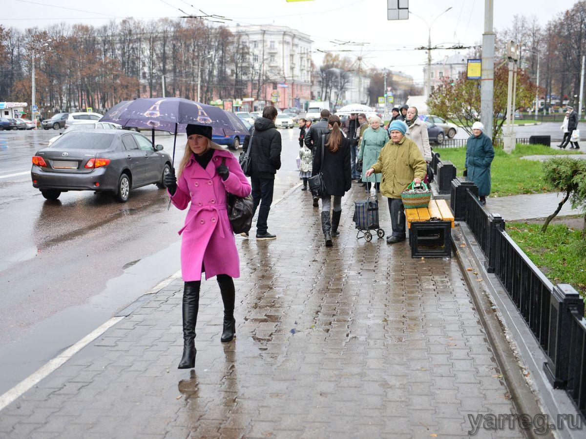 В Ярославле ожидается гроза