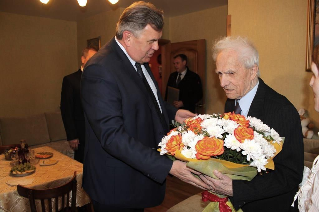 Ярославец Сергей Фураев отмечает 100-летний юбилей