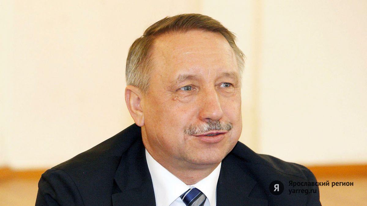 Александр Беглов поздравил ярославцев с Днем России