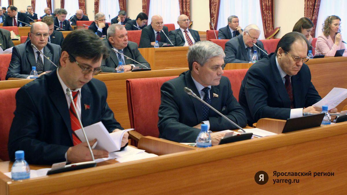 Все фракции Ярославской облдумы положительно оценили отчет губернатора