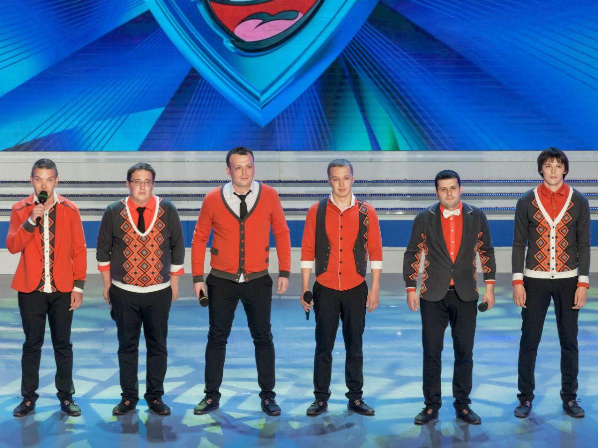 Ярославцы выступили в финале Высшей лиги КВН