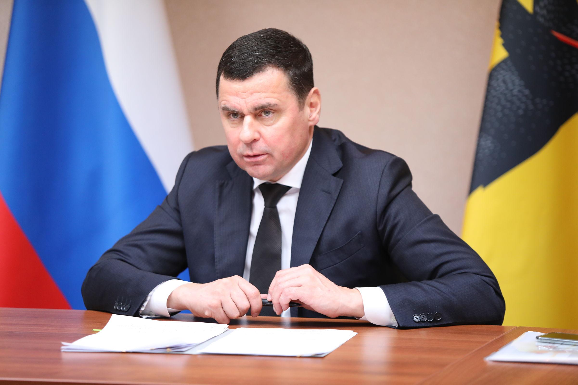 Дмитрий Миронов вошел в число лидеров рейтинга репутации губернаторов