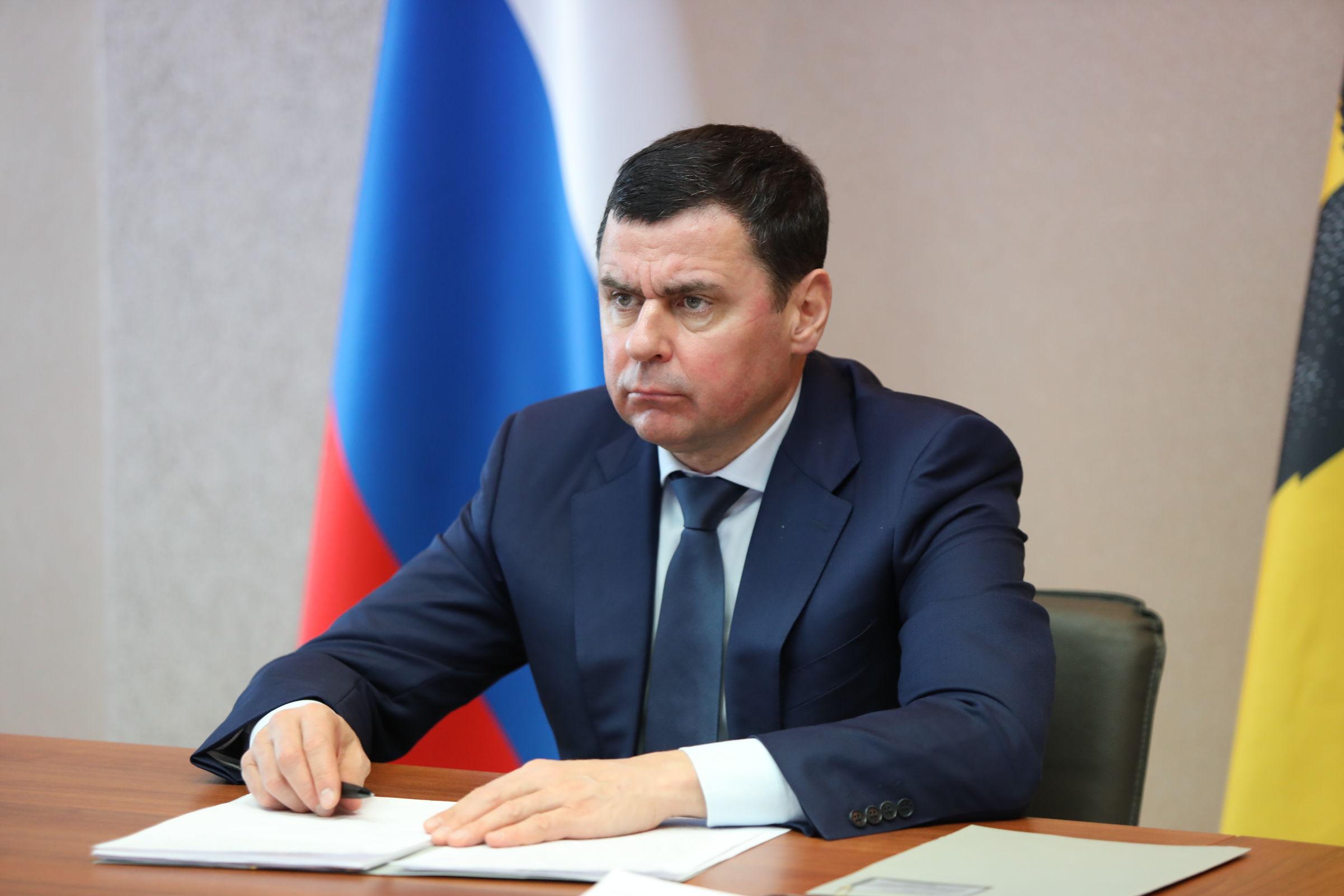 В связи с трагедией в Казани заседание правительства Ярославской области началось с минуты молчания