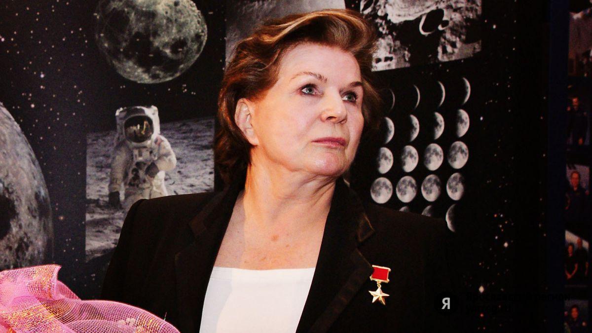 Валентина Терешкова из Ярославля вышла на связь с радиолюбителями всего мира