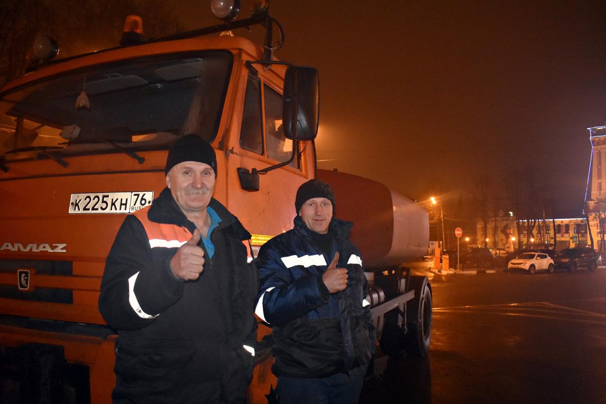 На расчистку дорог Ярославской области направляется дополнительная техника
