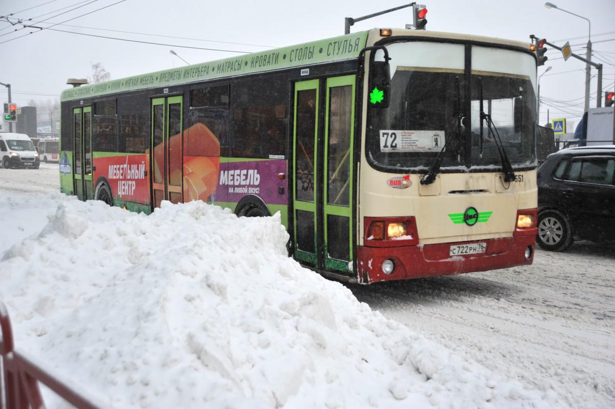 По итогам уборки Ярославля после снегопадов в ГИБДД возбудили более 50 административных расследований