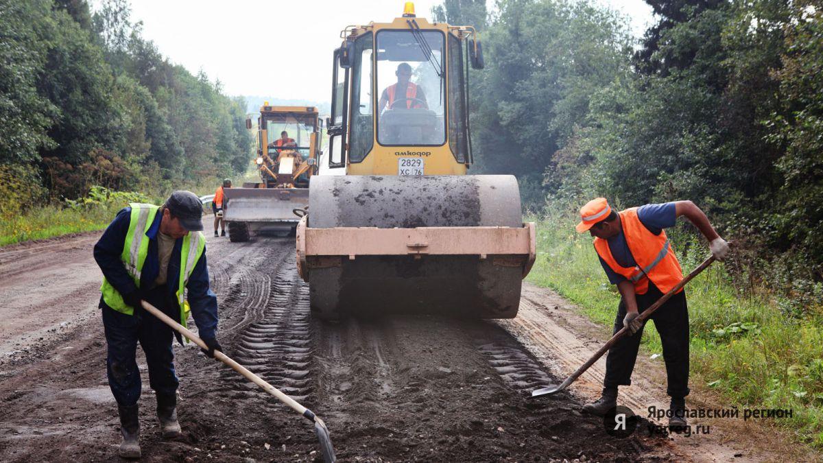В 2016 году в Ярославской области отремонтировано более 140 километров дорог