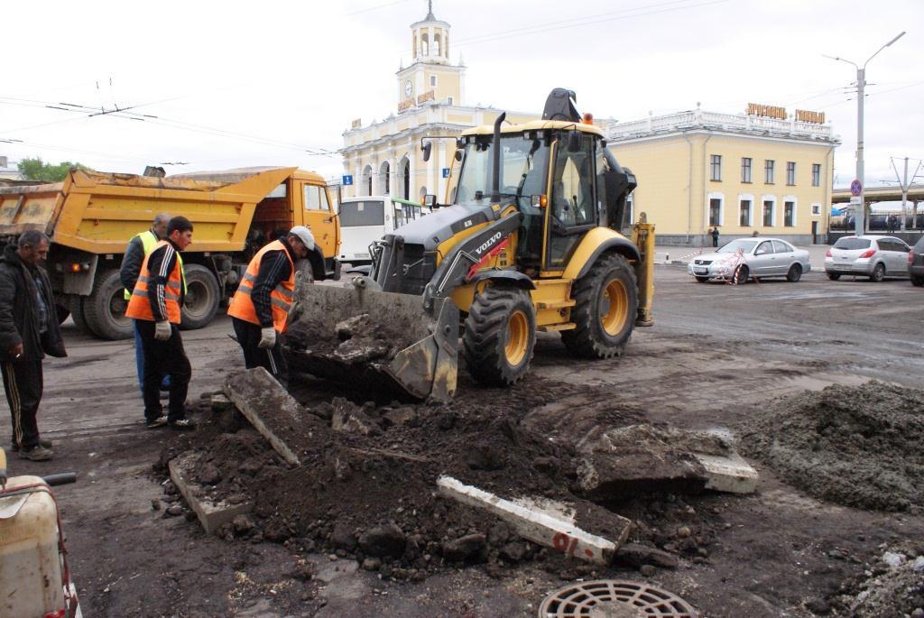 В Рыбинске перекрыто движение на Волжской набережной