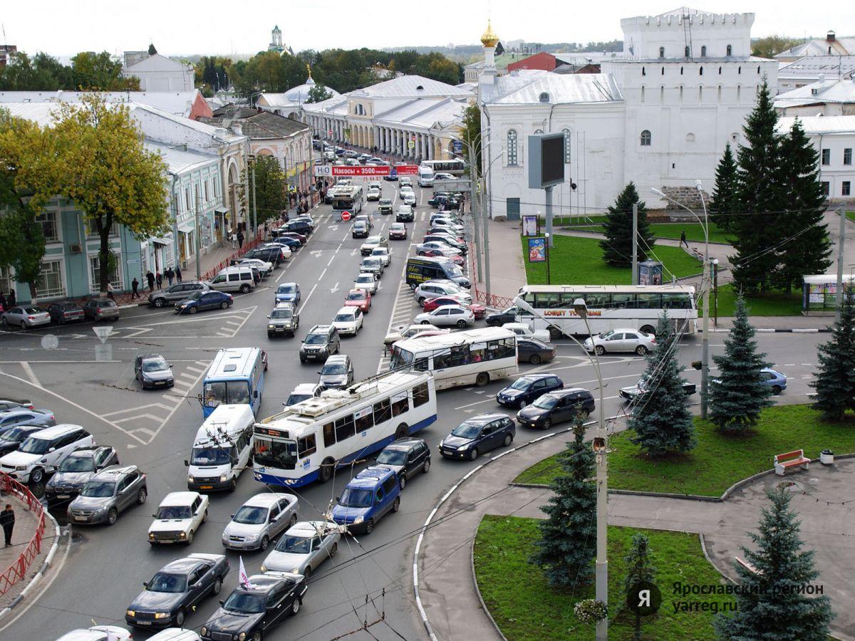 В центре Ярославля временно ограничат движение